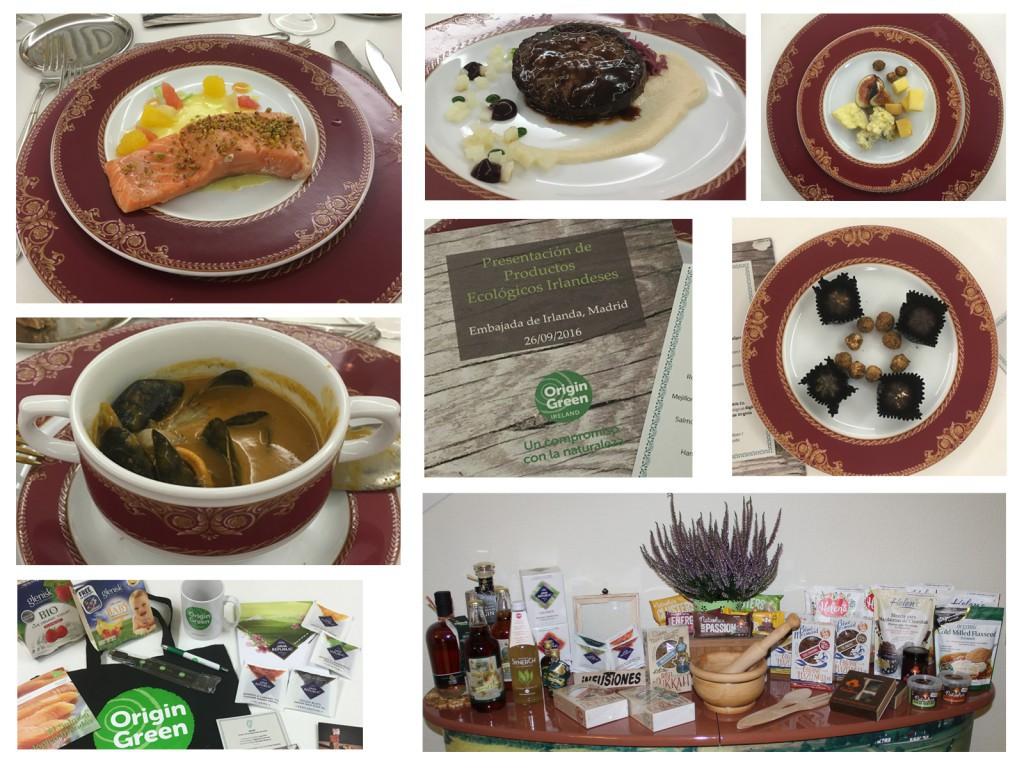 Evento Organico - Menu y productos